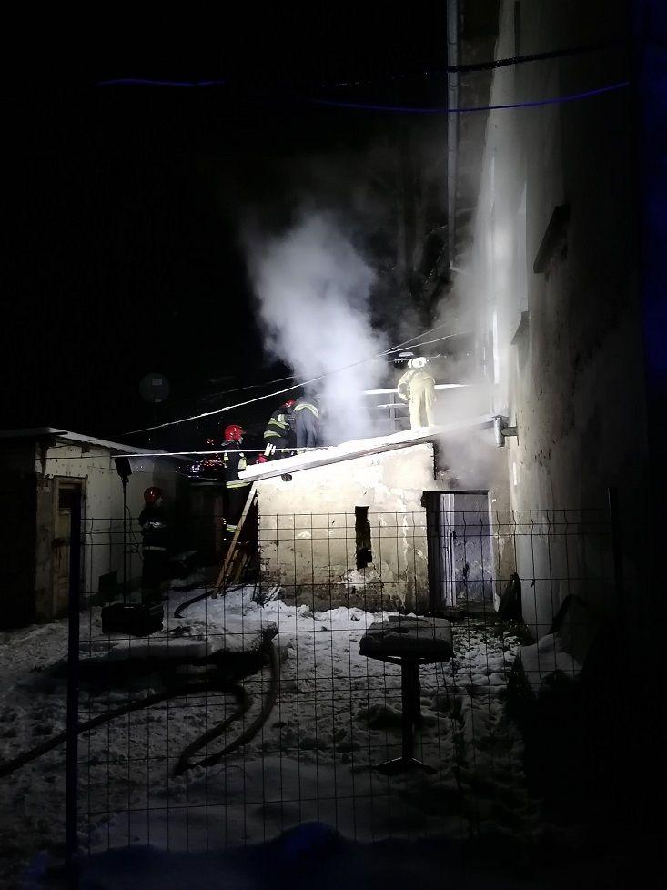 REGION, Boguszów-Gorce: Pożar na Poniatowskiego