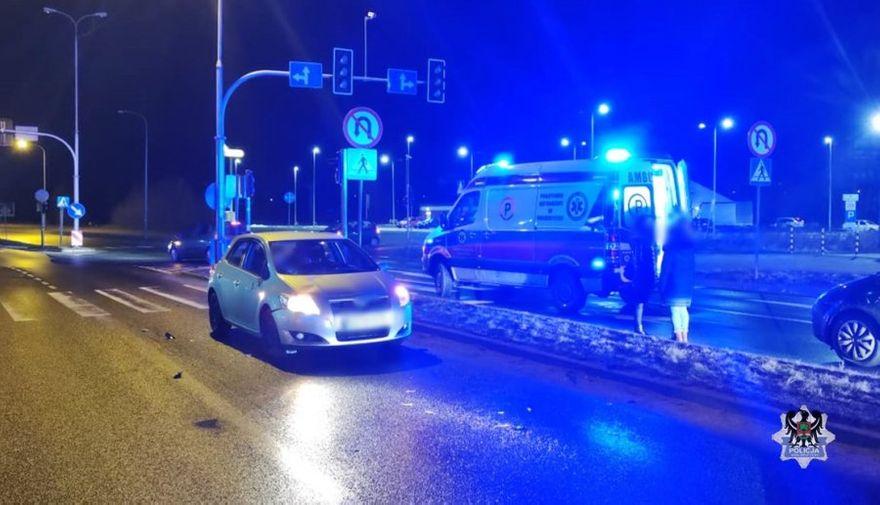 REGION, Szczawno-Zdrój: Piesza w szpitalu