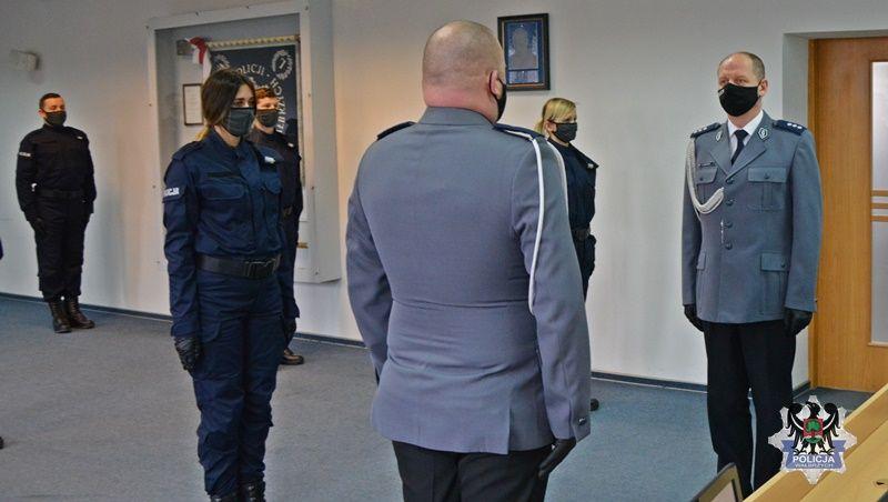 Wałbrzych/powiat wałbrzyski: 12 nowych policjantów