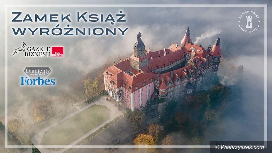 Wałbrzych: Diament i Gazela dla Zamku Książ
