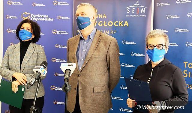 Wałbrzych: Tomasz Siemoniak odpowiada