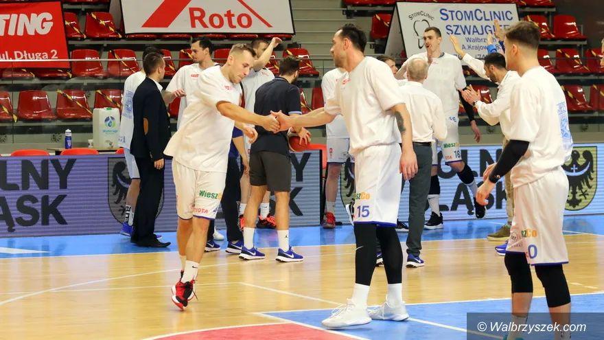 Wałbrzych/Kraj: Koszykarze pauzują