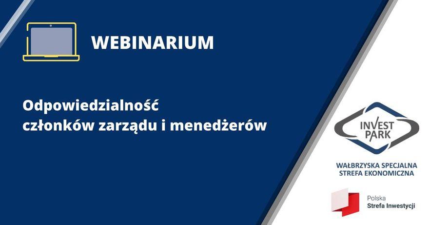 Wałbrzych/REGION: Odpowiedzialność menedżerów