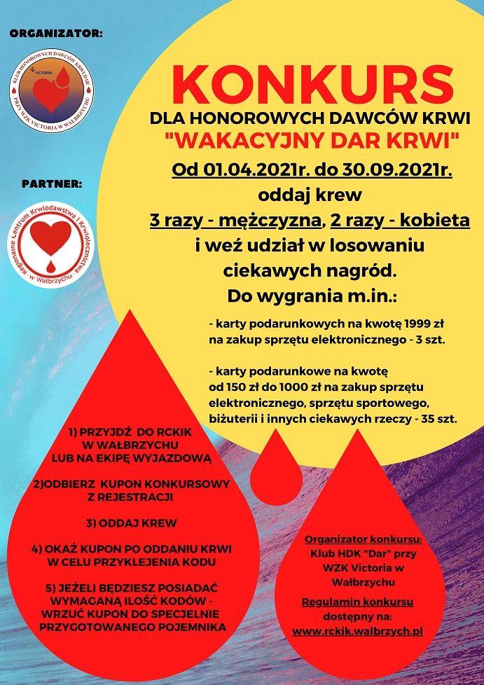 Wałbrzych/REGION: Dar krwi