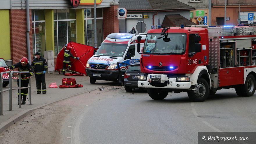 Wałbrzych: Ranni trafili do szpitala