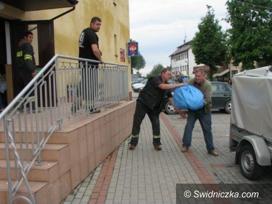 gmina Marcinowice: Mieszkańcy Marcinowic przekazali dary