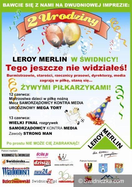Świdnica: Świdnicki Mundial w Leroy Merlin