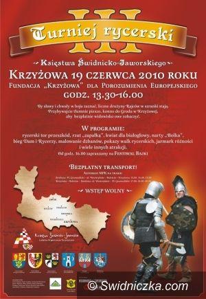 Krzyżowa: III Turniej Rycerski Księstwa Świdnicko–Jaworskiego w Krzyżowej już jutro