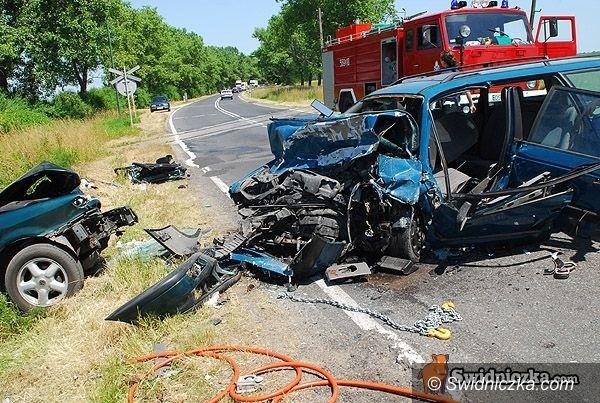 powiat świdnicki: Lato zbiera krwawe żniwo na drogach