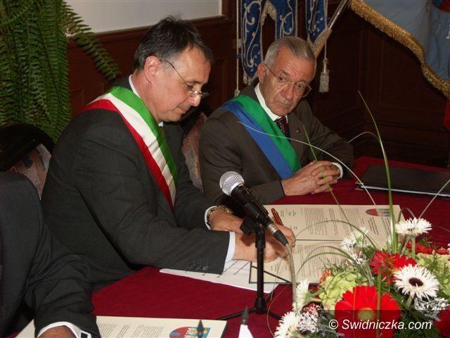 Strzegom: Włosi odnowią umowę partnerską