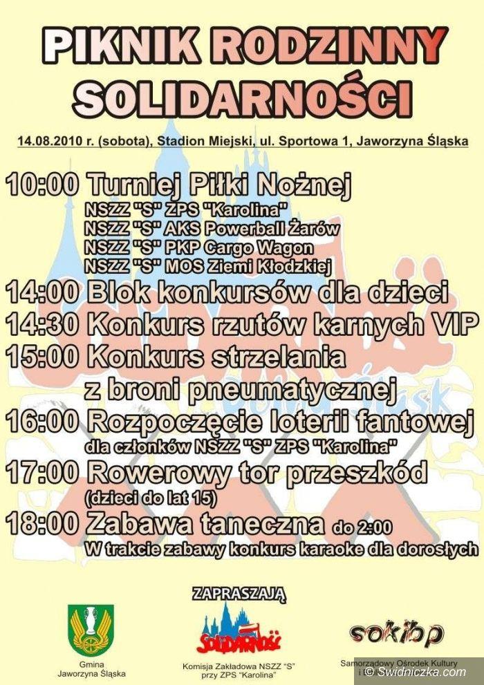 Jaworzyna Śląska: Sobota z Solidarnością