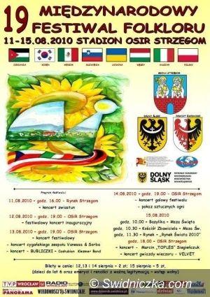 Strzegom: Rusza XIX Międzynarodowy Festiwal Folkloru w Strzegomiu – program