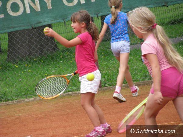 Świdnica: Szkółka tenisowa zakończona