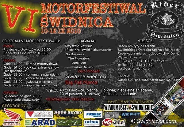 Świdnica: VI Motorfestiwal Świdnica przed nami