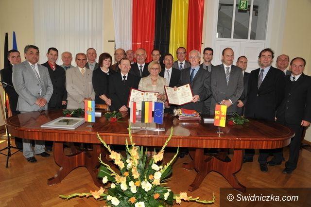 gmina Świdnica: Trzeci partner gminy Świdnica