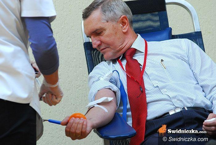 Świdnica: Dołącz się i podziel się życiem – trwa zbiórka krwi