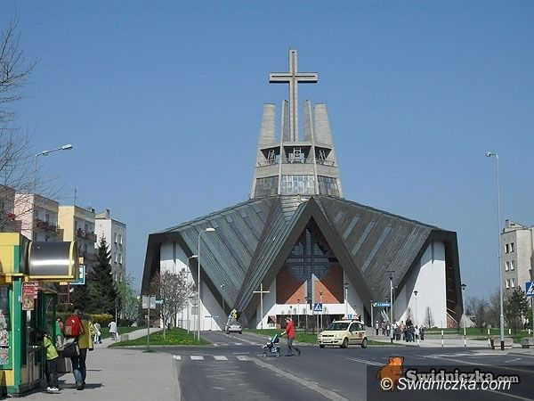 Świdnica: Saperzy w kościele