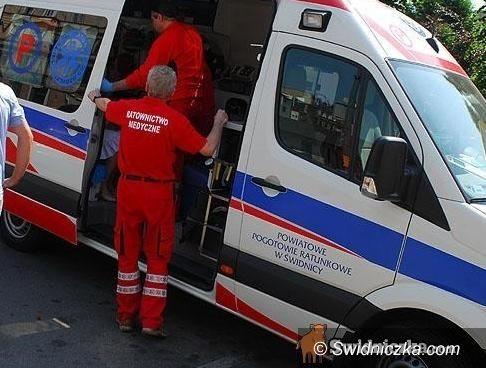 Witoszów Dolny: Kobieta potrącona przez samochód w Witoszowie Dolnym
