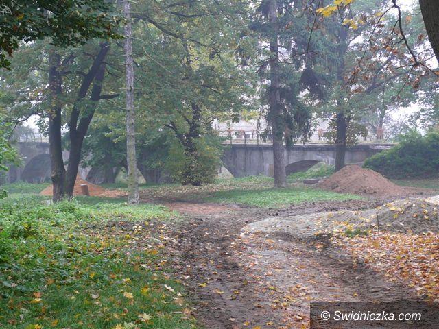 powiat świdnicki: Miasta biorą się za parki