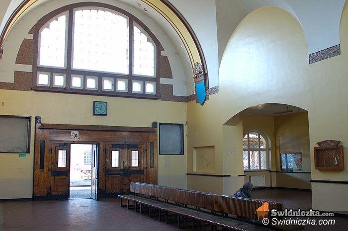 Świdnica: Dworzec kolejowy zmieni swoje oblicze