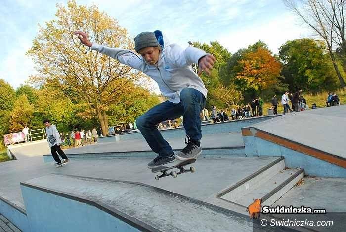 Świdnica: Skaterzy stanęli na starcie