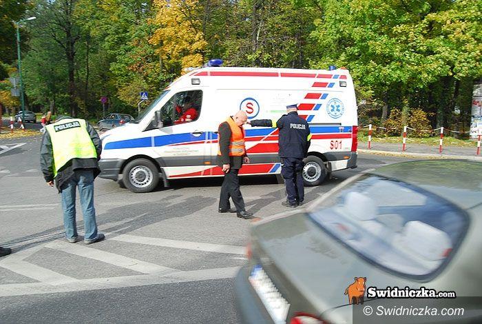 Świdnica: Rowerzysta potrącony na Armii Krajowej