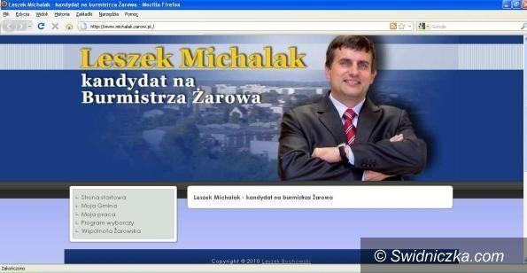 Żarów: Leszek Michalak w piątek zainauguruje kampanię