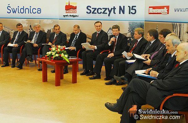 Świdnica: Czterech prezydentów popiera prezydenta Świdnicy i kandydatów do sejmiku