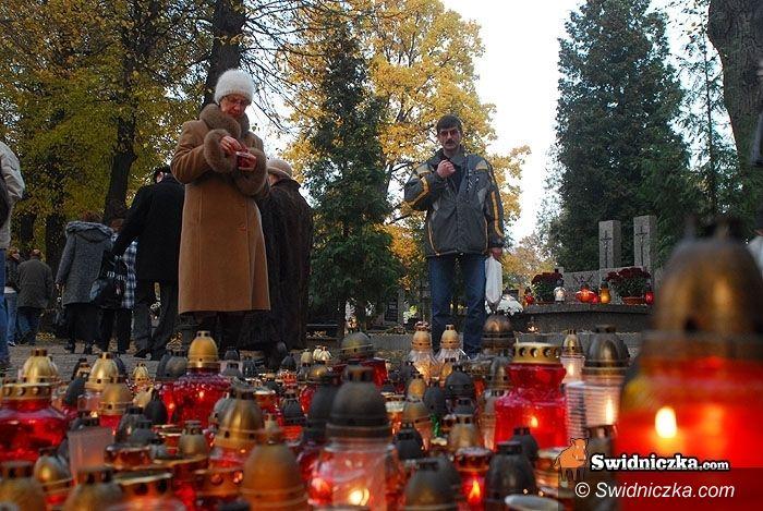 powiat świdnicki/kraj: Wielkie pielgrzymowanie na groby bliskich – bądźmy bezpieczni