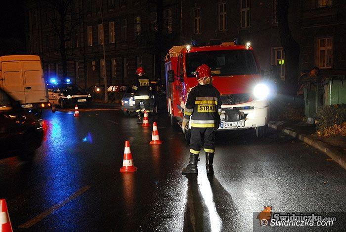 Świdnica: Zderzenie na trzy samochody