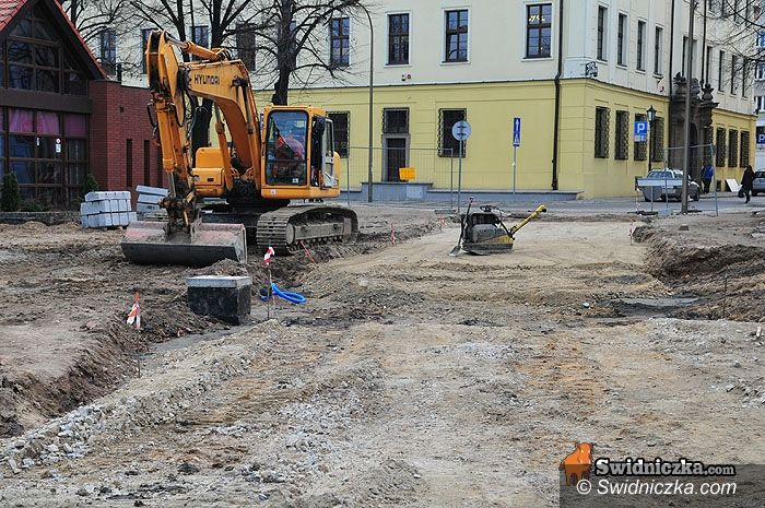 Świdnica: Ofiar Oświęcimskich otwarta, plac św. Małgorzaty za pół roku