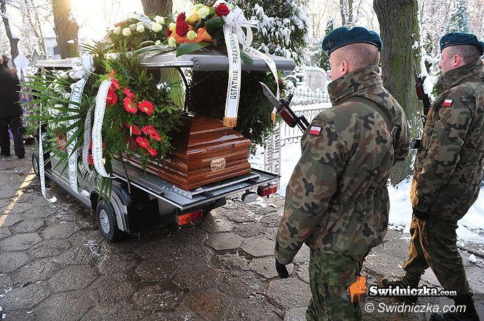 Świdnica: Bohater odszedł na wieczną wartę