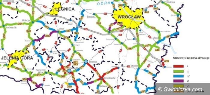 powiat świdnicki: Zobacz plan zimowego utrzymania dróg wojewódzkich