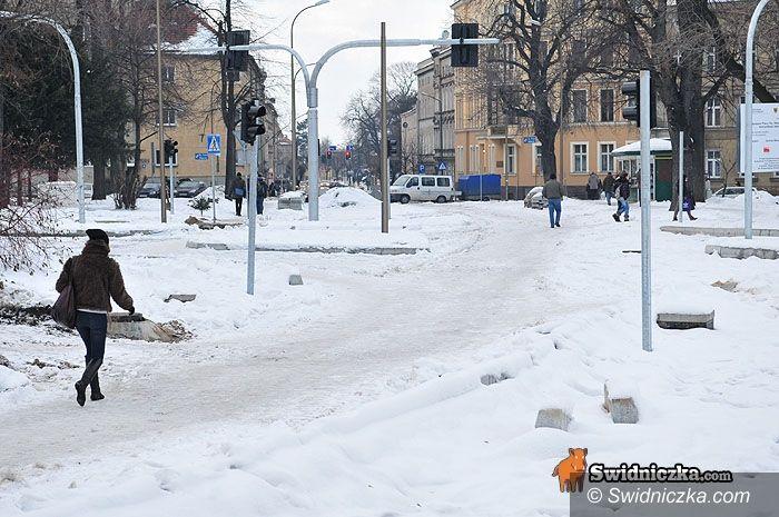Świdnica: Pl. św. Małgorzaty – to nie przestój, to taki plan