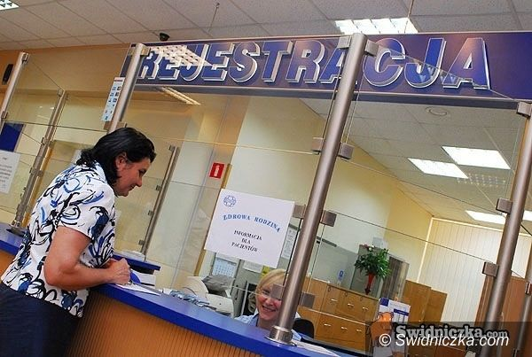 powiat świdnicki: Problem z kontraktami na specjalistów w przychodniach