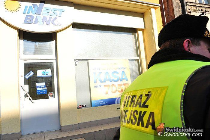 Świdnica: Zamaskowany mężczyzna napadł na bank [aktualizacja z godz. 15.50]
