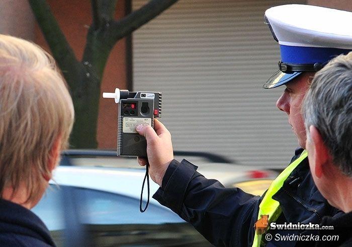 powiat świdnicki: Kierowcy a alkohol i narkotyki