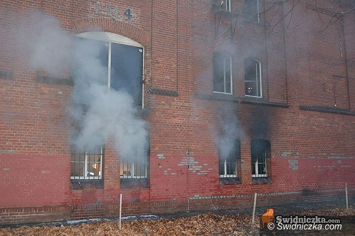 Świebodzice: Podpalenie za podpaleniem – ktoś się znów uwziął na byłą Silenę
