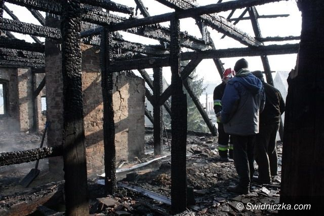 Świebodzice: Burmistrz Świebodzic i OPS apelują o pomoc dla pogorzelców