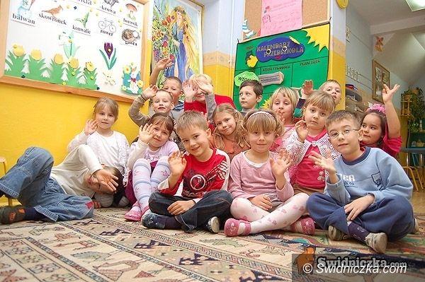 Świdnica: 820 wolnych miejsc w 7 miejskich przedszkolach