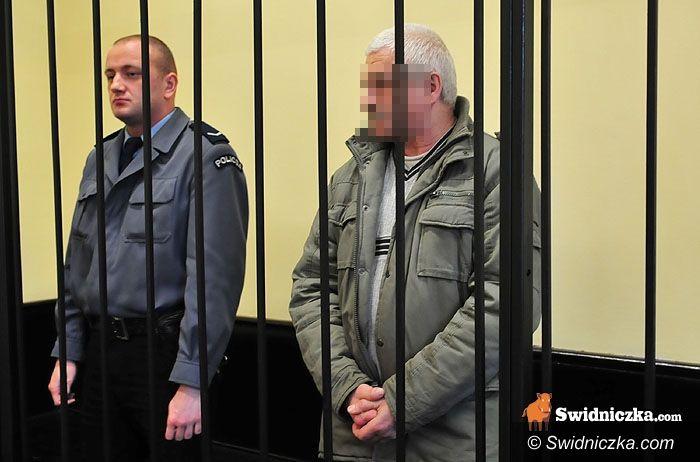 Świdnica: Trzynaście lat za zamordowanie starszej o dwadzieścia lat kochanki