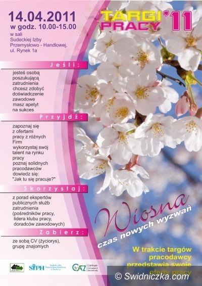 Świdnica: Wiosenne targi pracy