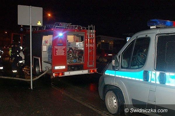 Miłochów: Mężczyzna podpalił się w Miłochowie