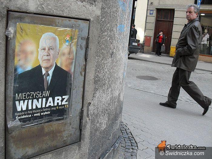 Świdnica: Sztab Wspólnoty Samorządowej nie kwapi się ze sprzątaniem