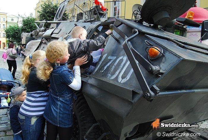 Witoszów Dolny: Militarna majówka w Witoszowie
