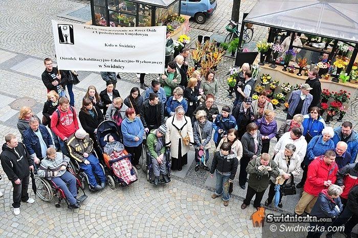 Świdnica: Niepełnosprawni wyjdą na ulice miasta