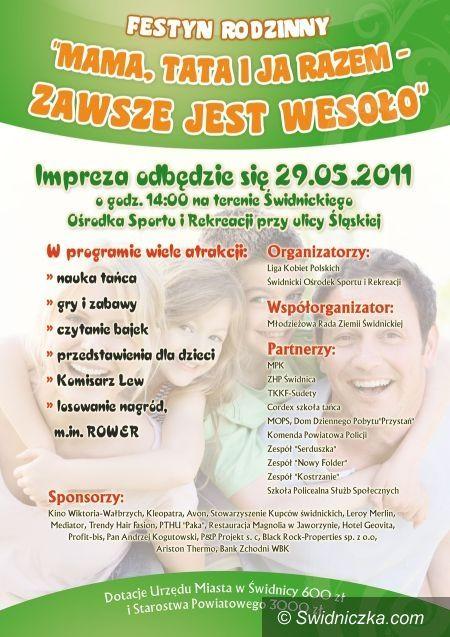 Świdnica: Festyn dla dzieci i ich rodzin