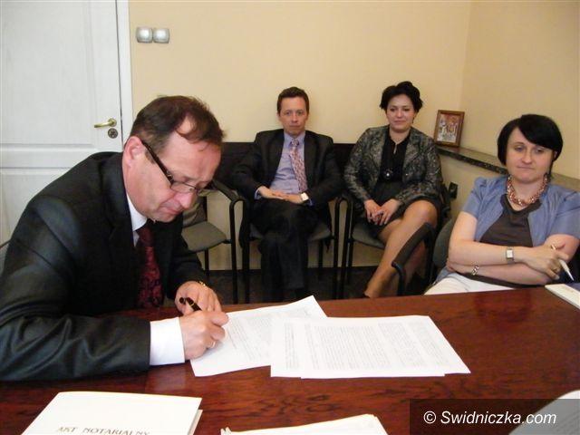 Świebodzice: Jest pierwszy inwestor w świebodzickiej podstrefie