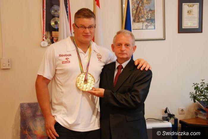 Świdnica: Mistrz Europy z Ostrawy w Starostwie