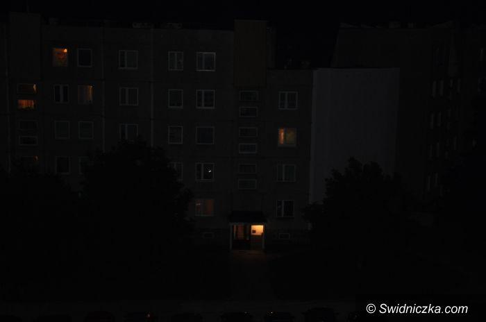Świdnica: Egipskie ciemności na Zawiszowie
